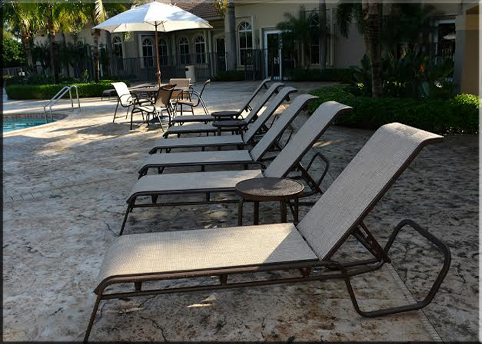 Island Sling Line Patio Furniture