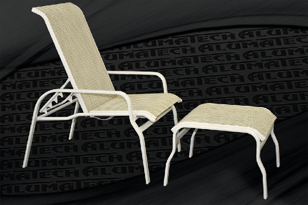 Island Sling Line Patio Furniture - Reclining Patio Chairs Our Designs